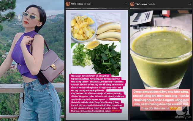 Học lỏm cách làm đồ uống thanh lọc cơ thể của các chị đẹp trong showbiz Việt-4