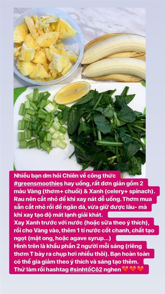 Học lỏm cách làm đồ uống thanh lọc cơ thể của các chị đẹp trong showbiz Việt-5