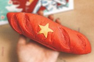 """""""Bánh mì yêu nước"""" phủ sóng cộng đồng mạng, chủ quán bất ngờ tiết lộ doanh thu """"khủng"""""""