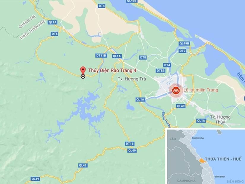 Đưa 5 người bị thương ở thủy điện Rào Trăng 4 đi bệnh viện-4
