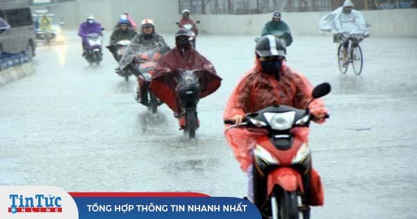 Thời tiết ngày 14/10, bão số 7 đổ bộ, miền Bắc mưa to và lạnh