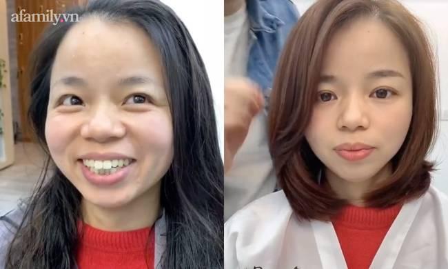 Chẳng thể tin nổi 2 bức ảnh này là cùng 1 người, sức mạnh của thợ làm tóc đúng là không thể đùa!-6