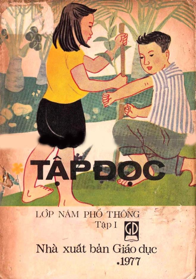 Rưng rưng ngắm bìa sách giáo khoa Tiếng Việt của thế hệ 7X, 8X đời đầu-8