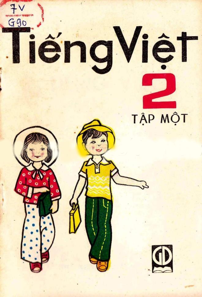 Rưng rưng ngắm bìa sách giáo khoa Tiếng Việt của thế hệ 7X, 8X đời đầu-12