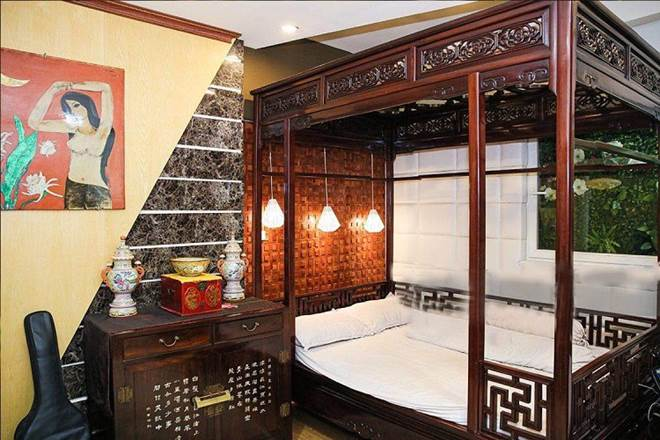 Choáng ngợp căn nhà nội thất toàn gỗ khắc nguyên khối tiền tỉ của đại gia Hà thành-4