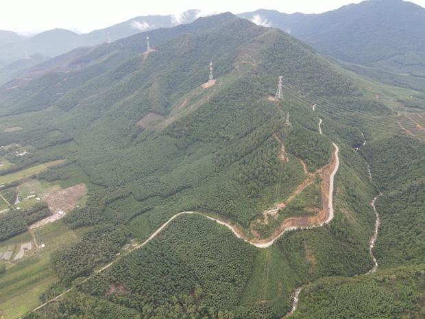 Clip: Một số hình ảnh hiện trường thủy điện Rào Trăng 3 nhìn từ máy bay trực thăng-4