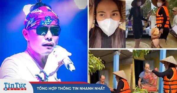 Thắc mắc quy trình làm từ thiện của Thủy Tiên, Jimmii Nguyễn nhận về rổ gạch đá
