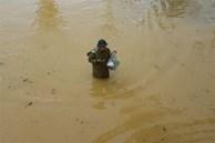 Hiệu trưởng ĐH Nông Lâm Huế mang đồ ăn cho sinh viên giữa mưa lũ