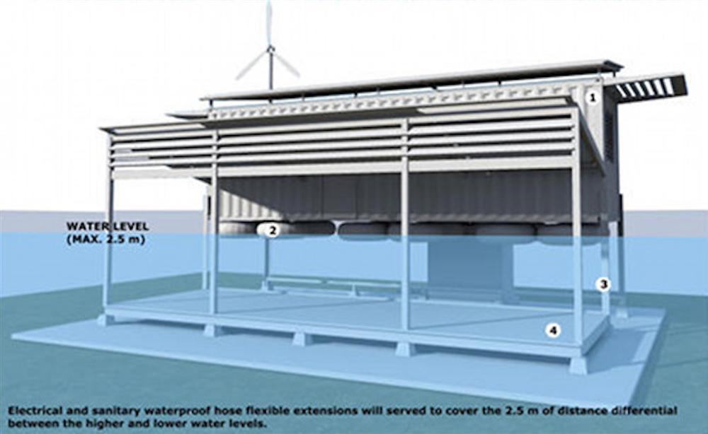 Thế giới chống lũ lụt hiệu quả với 6 mô hình nhà được các kiến trúc sư dày công nghiên cứu-8
