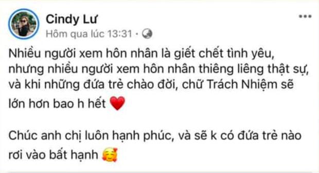 Bị chỉ trích có lời chúc kém duyên dành cho con của Đông Nhi - Ông Cao Thắng, vợ cũ Hoài Lâm nói gì?-1