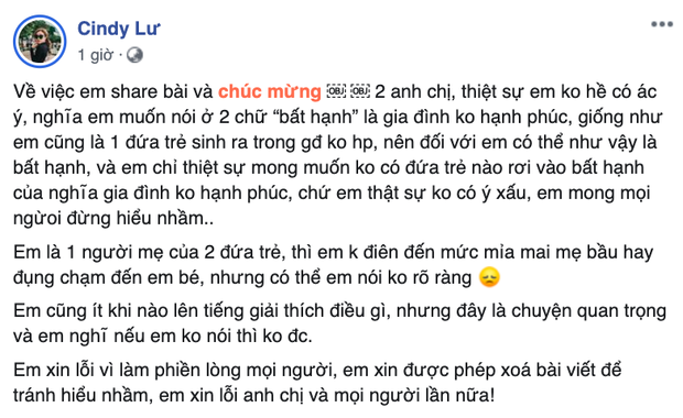 Bị chỉ trích có lời chúc kém duyên dành cho con của Đông Nhi - Ông Cao Thắng, vợ cũ Hoài Lâm nói gì?-2