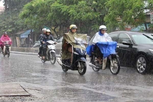 Thời tiết ngày 15/10: Hà Nội lạnh dưới 20 độ, có mưa to đến rất to