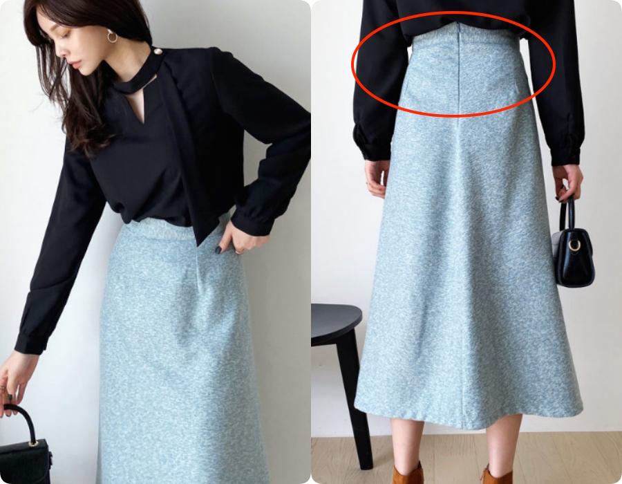 Kỹ nghệ thu nhỏ vòng 2 cho các chị em khi diện chân váy xòe: Nàng bụng to, eo bánh mì mà bỏ qua thì quá phí-2