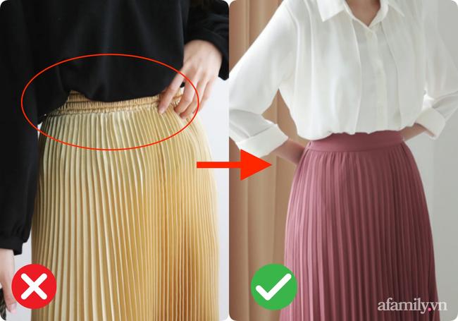 Kỹ nghệ thu nhỏ vòng 2 cho các chị em khi diện chân váy xòe: Nàng bụng to, eo bánh mì mà bỏ qua thì quá phí-1