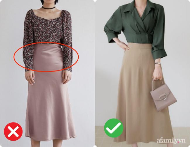 Kỹ nghệ thu nhỏ vòng 2 cho các chị em khi diện chân váy xòe: Nàng bụng to, eo bánh mì mà bỏ qua thì quá phí-5