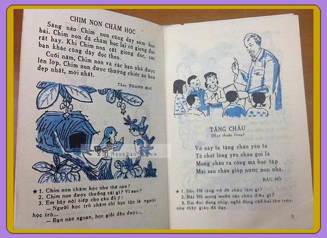 Cần gì truyện ngụ ngôn La Phông-ten hay Lép Tônxtôi, sách Tiếng Việt cũ toàn những bài thơ cây nhà lá vườn mà ai cũng mê đến tận bây giờ-9