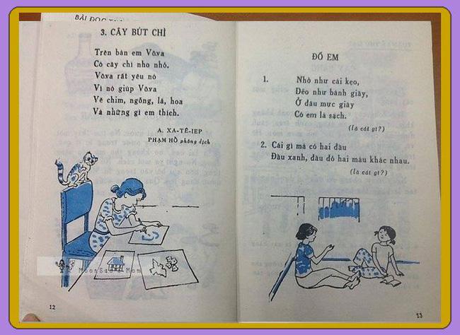Cần gì truyện ngụ ngôn La Phông-ten hay Lép Tônxtôi, sách Tiếng Việt cũ toàn những bài thơ cây nhà lá vườn mà ai cũng mê đến tận bây giờ-7