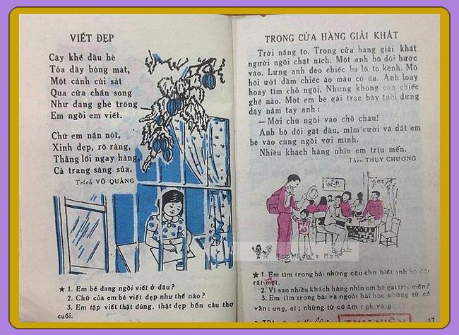 Cần gì truyện ngụ ngôn La Phông-ten hay Lép Tônxtôi, sách Tiếng Việt cũ toàn những bài thơ cây nhà lá vườn mà ai cũng mê đến tận bây giờ-3