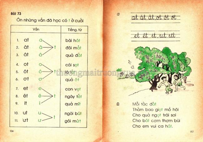Cần gì truyện ngụ ngôn La Phông-ten hay Lép Tônxtôi, sách Tiếng Việt cũ toàn những bài thơ cây nhà lá vườn mà ai cũng mê đến tận bây giờ-14