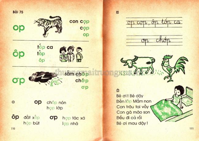 Cần gì truyện ngụ ngôn La Phông-ten hay Lép Tônxtôi, sách Tiếng Việt cũ toàn những bài thơ cây nhà lá vườn mà ai cũng mê đến tận bây giờ-12