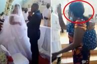 Đám cưới diễn ra linh đình thì người phụ nữ cõng 3 con đến tuyên bố một câu khiến quan khách há hốc, chú rể chỉ biết khoanh tay cúi mặt