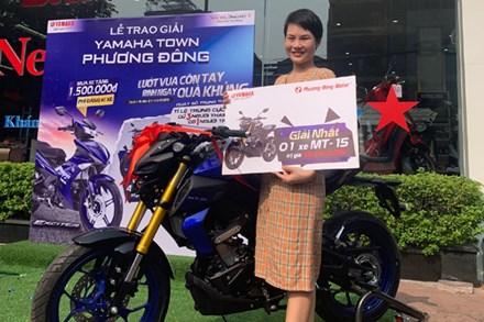 Săn cơ hội trúng xe mô tô 69 triệu khi mua Yamaha Exciter