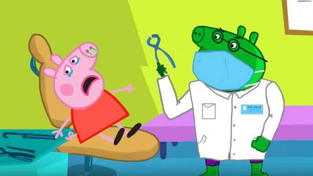 Loạt hình ảnh rùng rợn của hoạt hình Peppa Pig nhái trên Youtube: Gieo rắc ý định tự làm bản thân bị thương vào đầu trẻ?-9