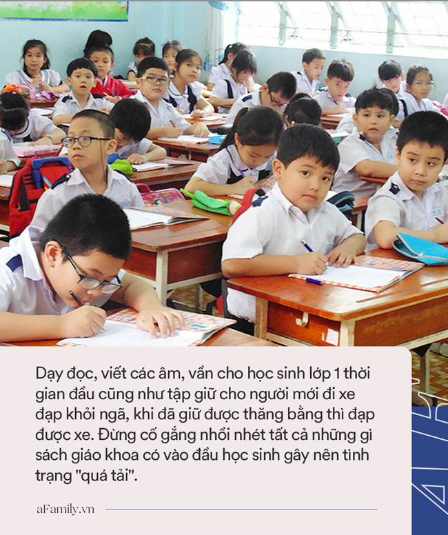 Giáo viên nói về việc dạy học môn tiếng Việt lớp 1: Cứ từ từ, chậm mà chắc, nhất là đừng phụ thuộc hoàn toàn vào SGK-3