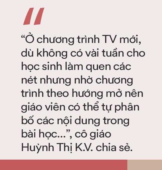 Giáo viên nói về việc dạy học môn tiếng Việt lớp 1: Cứ từ từ, chậm mà chắc, nhất là đừng phụ thuộc hoàn toàn vào SGK-2