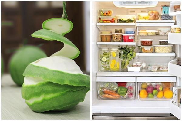 Hóa ra bỏ vỏ bưởi vào tủ lạnh lại có tác dụng thế này, thậm chí còn rất hữu ích vào mùa đông-2