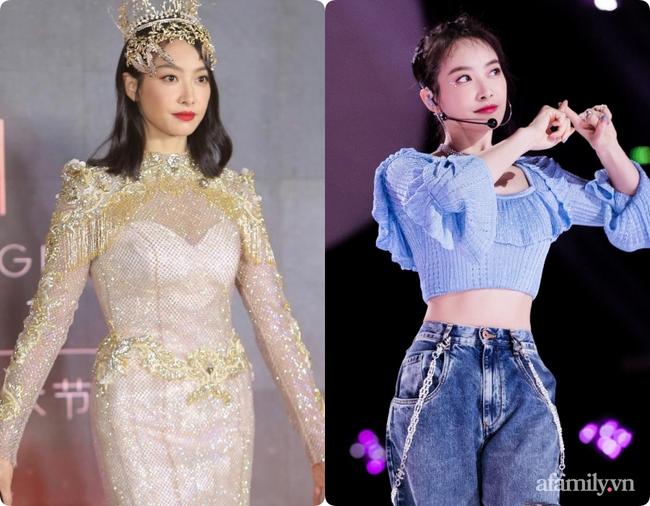Không chỉ Nữ thần Kim Ưng, nhiều sao Việt cũng bị lộ dáng béo tròn bụng mỡ vì thiết kế váy đuôi cá-3