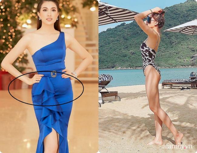 Không chỉ Nữ thần Kim Ưng, nhiều sao Việt cũng bị lộ dáng béo tròn bụng mỡ vì thiết kế váy đuôi cá-5