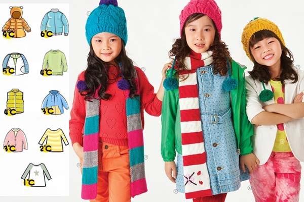 """""""Công thức"""" mặc quần áo mùa thu đông đúng cách giúp trẻ luôn ấm áp và thoải mái, chẳng lo ốm đau"""