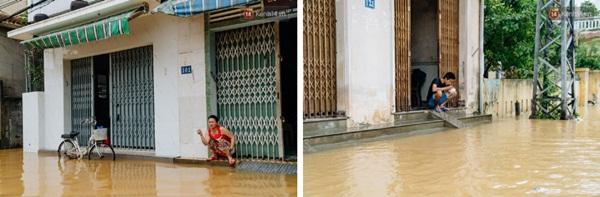 """Mất điện, nước lũ gây ngập nặng, người dân Huế kiệt sức: Chưa có năm nào khắc nghiệt như năm nay""""-2"""