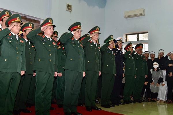Nghẹn ngào tiễn đưa 13 cán bộ, chiến sĩ hy sinh ở Rào Trăng 3-4