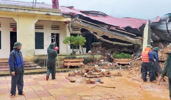Sạt lở vùi lấp 22 cán bộ chiến sỹ ở Quảng Trị, tìm thấy 4 thi thể-4