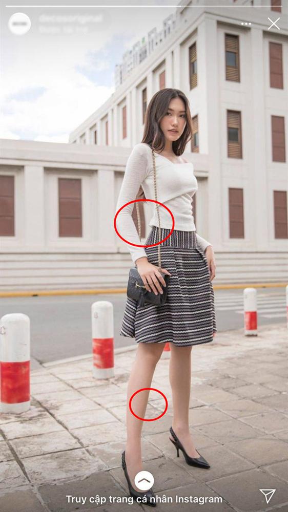 Người đẹp có vòng eo nhỏ nhất Hoa hậu Việt Nam lộ ảnh photoshop quá đà gây choáng-1