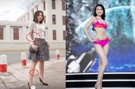 Người đẹp có 'vòng eo nhỏ nhất' Hoa hậu Việt Nam lộ ảnh photoshop quá đà gây choáng