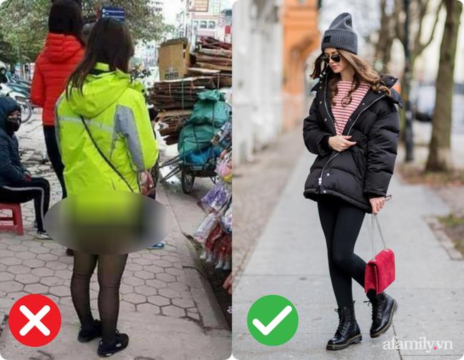 Trời lạnh là dân tình lại nhức nhối với kiểu ăn mặc của một vài chị em: Vô tư diện legging hớ hênh khiến người nhìn ngán ngẩm-2