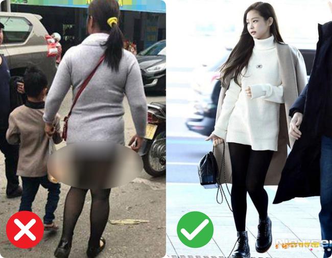 Trời lạnh là dân tình lại nhức nhối với kiểu ăn mặc của một vài chị em: Vô tư diện legging hớ hênh khiến người nhìn ngán ngẩm-4