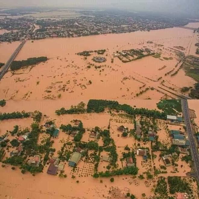 Quảng Bình: Nước lũ dâng cao, nhấn chìm nhà cửa, người dân kêu cứu giữa biển nước mênh mông-2