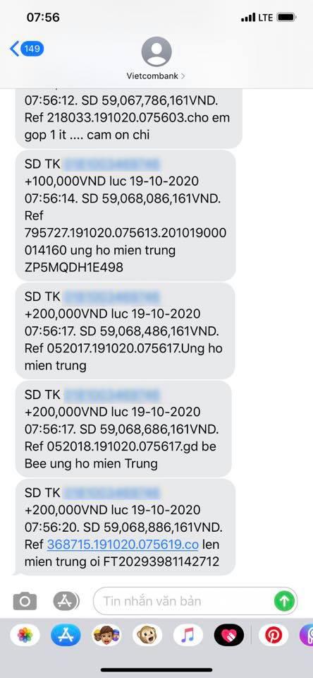 Sau 6 ngày phát động quyên góp, Thủy Tiên đã nhận được hơn 60 tỷ, tiếp tục đi tới Quảng Bình viện trợ từ sáng sớm-3