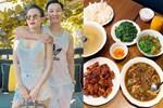 Vợ Thành Trung không chỉ khéo chăm con màcòn giỏi chiều chồng, nấu toàn món đưa cơm lại còn hợp thời tiết ngày lạnh