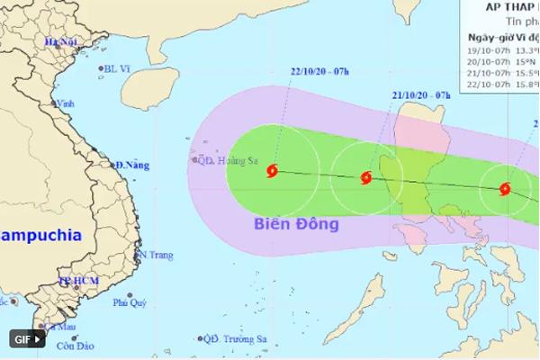 Lũ ở Quảng Bình vượt đại hồng thuỷ năm 1979, miền Trung lại đối diện với áp thấp đang hướng thẳng vào-1
