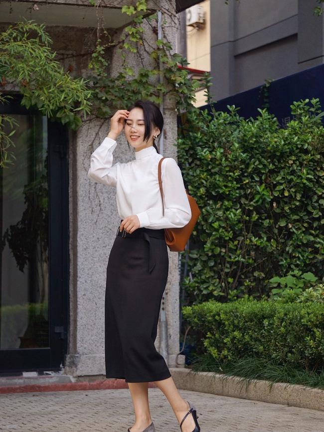 Street style Châu Á: Hội chị em lên đồ chuẩn gái Pháp, toàn blazer và cardigan nhưng nhìn sang hết nấc-3