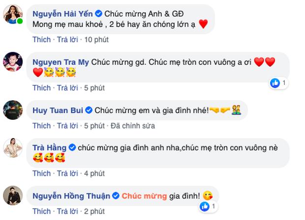Bà xã Khắc Việt chính thức hạ sinh đôi trai gái đầu lòng-2