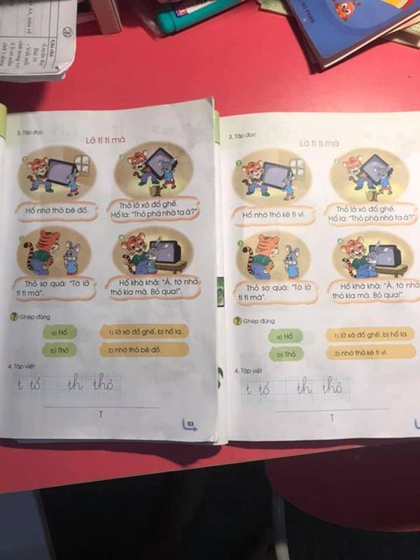 Phụ huynh lại hoang mang với sách Tiếng Việt 1 Cánh diều: Cùng bộ sách nhưng mỗi cuốn lại in một nội dung khác nhau?-1