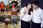 Thủy Tiên xông pha cứu trợ đồng bào Miền Trung: Phía sau người phụ nữ nhân hậu ấy là hạnh phúc được nhiều người ngưỡng mộ