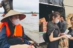 Nữ MC bị chỉ trích mạnh mẽ vì đăng status mỉa mai, 'bóc giá' kém duyên đồ Thuỷ Tiên mặc khi đi cứu trợ miền Trung
