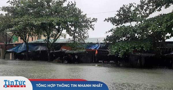 Thời tiết ngày 20/10: Trung Bộ nhiều nơi vẫn ngập lụt